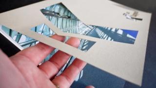 Laserschnitt - klare, saubere Kanten und Ecken